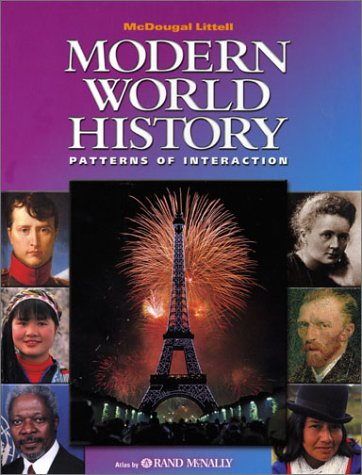9780618131778: McDougal Littell World History: Patterns of Interaction: Student Edition Grades 9-12 Modern World History 2003