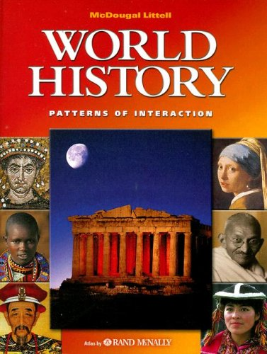 9780618131792: McDougal Littell World History: Patterns of Interaction: Student s Edition Grades 9-12 2003