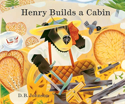 Henry Builds A Cabin Format: Reinforced Library Binding