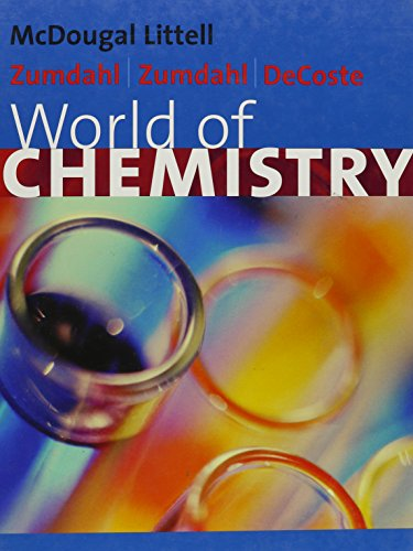 9780618134960: World Of Chemistry