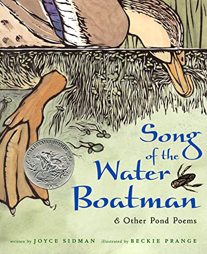 Song of the Water Boatman and Other: Joyce Sidman; Illustrator-Beckie