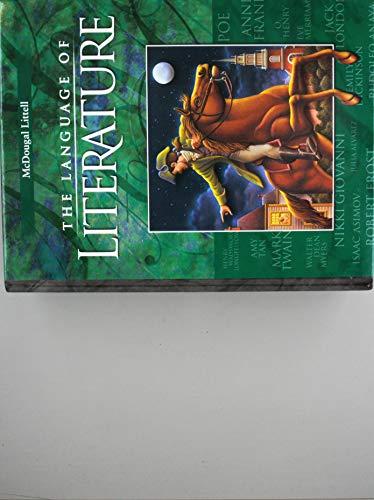 9780618136636: McDougal Littell Language of Literature: Student Edition Grade 8 2002
