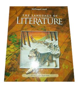 9780618136643: Language of Literature, Teacher's Edition