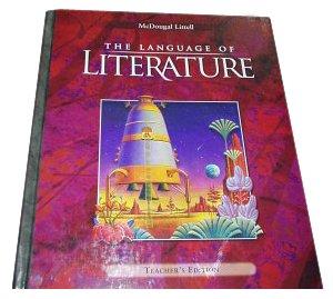 9780618136650: McDougal Littell Language of Literature: Teacher's Edition Grade 7 2002