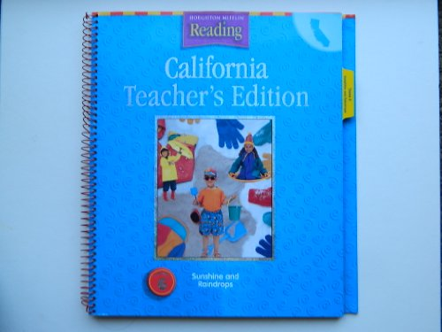 Houghton Mifflin Reading California: Teach Ed Level K Thm 6 2003: HOUGHTON MIFFLIN
