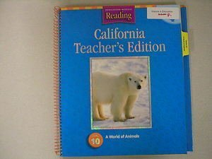 9780618137800: Houghton Mifflin Reading California: Teach Ed Level K Thm 2003