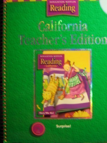 Houghton Mifflin Reading California: Teach Ed Level 1 Thm 2 2003: HOUGHTON MIFFLIN