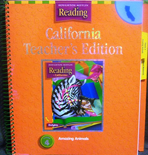 9780618137947: Houghton Mifflin Reading California: Teach Ed Level 2 Thm 4 2003
