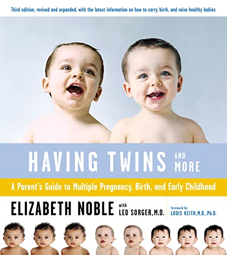 9780618138739: Having Twins And More: A Parent's Guide to Multiple Pregnancy, Birth, and Early Childhood
