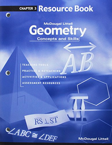 9780618140411: Geometry: Concepts and Skills: Resource Book Chapter 3