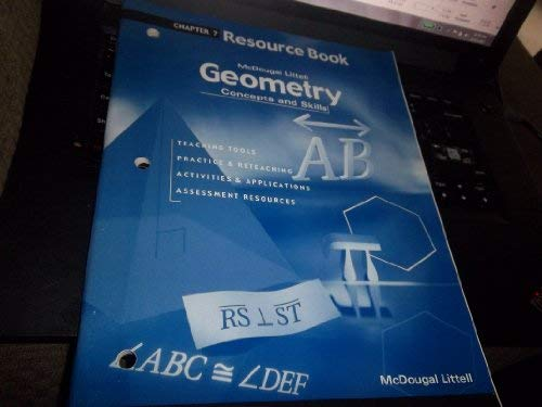 9780618140459: Geometry: Concepts and Skills: Resource Book Chapter 7