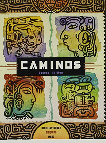 9780618143337: Caminos (Second Edition with book & cassette)