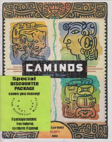 9780618143344: Caminos, 2nd Edition (Book & CD) (Spanish Edition)