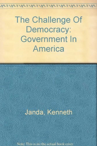 9780618143733: Challenge Of Democracy Brief, Fourth Edition And El +: Cue