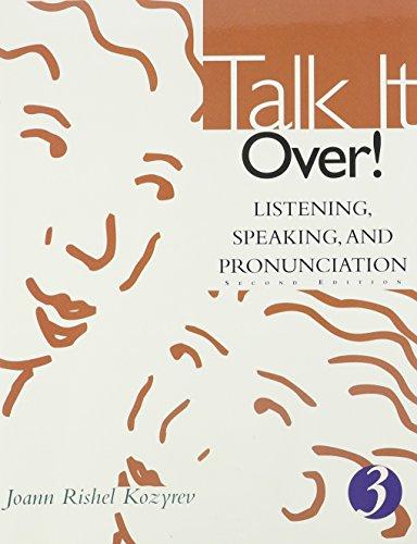 9780618144068: Talk It Over!: Integrating Listening, Speaking, and Pronunciation