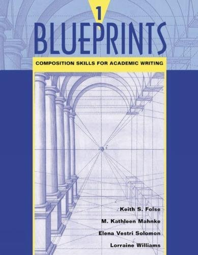9780618144099: Blueprints 1: Composition Skills for Academic Writing