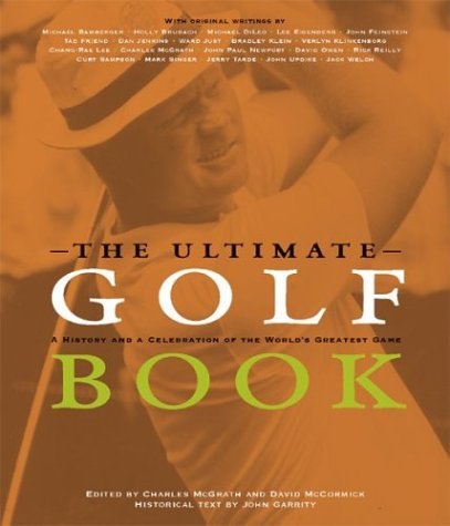 THE ULTIMATE GOLF BOOK: McGrath, Charles