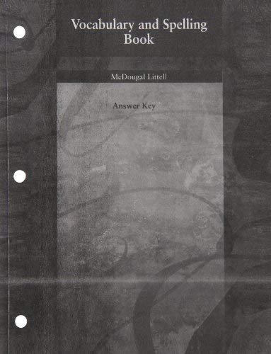 9780618147038: McDougal Littell Language of Literature: English Learners SAE: Spanish Study Guide Grade 8 (Spanish Edition)