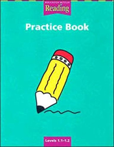 9780618151615: Reading Practice Book Levels 1.1-1.2 (Houghton Mifflin Reading a Legacy of Literature)