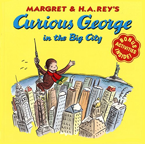 9780618152520: Curious George in the Big City