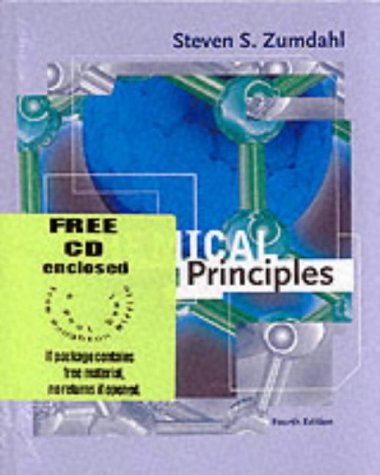 9780618152568: Chemical Principles With Cd-rom Fourth Edition