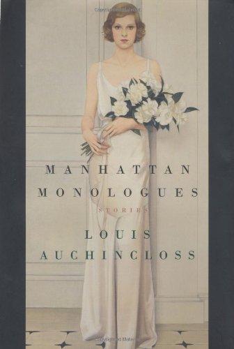 9780618152896: Manhattan Monologues