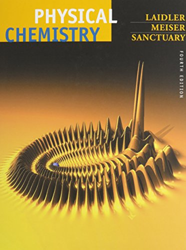 9780618152926: Physical Chemistry