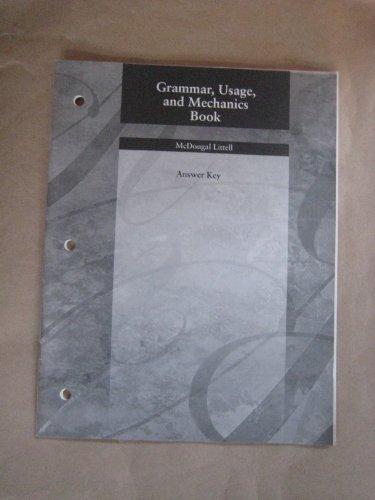 9780618153770: Language Network: Grammar, Usage, and Mechanics Book Answer Key Grade 7