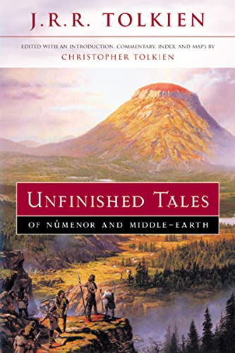 9780618154043: Unfinished Tales of Numenor and Middle-earth