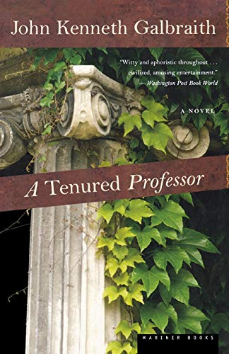 9780618154555: A Tenured Professor
