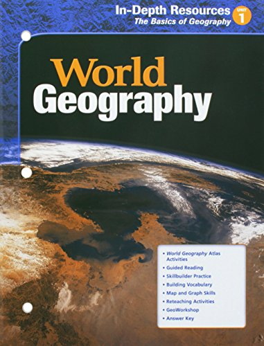 9780618154692: World Geography In-Depth Resources the basics of Geography Unit1