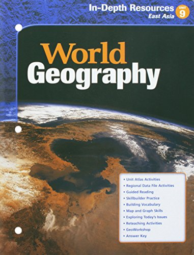 9780618154777: McDougal Littell World Geography: In-Depth Resources Unit 9 Grades 9-12