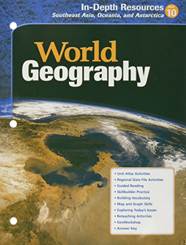 World Geography In-Depth Resources Southeast Asia, Oceania,: McDougal Littell
