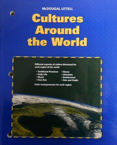 Cultures Around the World Color Transparencies (World Cultures and Geography.: McDougal