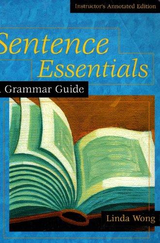 9780618154821: Sentence Essentials