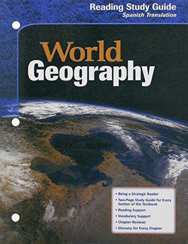 9780618154845: World Geography: Reading Study Guide (Spanish) (Spanish Edition)