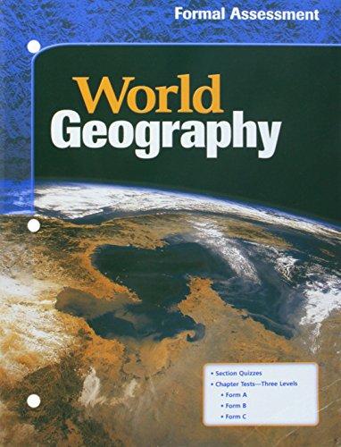 9780618154883: McDougal Littell World Geography: Formal Assessment Grades 9-12