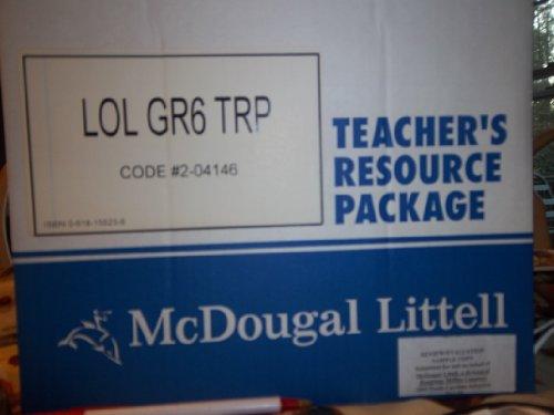 McDougal Littell Language of Literature: Teacher s Resource Package Grade 06: MCDOUGAL LITTEL