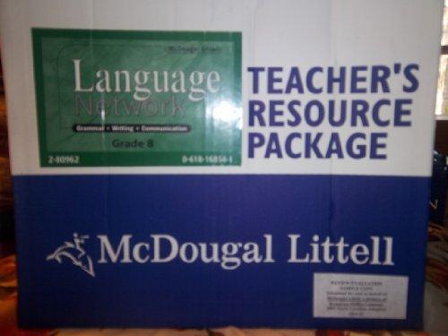 9780618155262: McDougal Littell Language of Literature: Teacher s Resource Package Grade 08