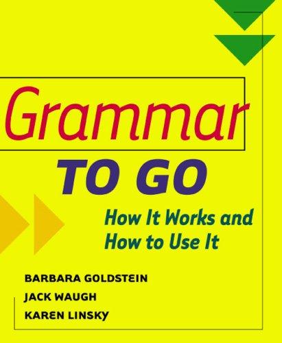 9780618155729: Grammar to Go