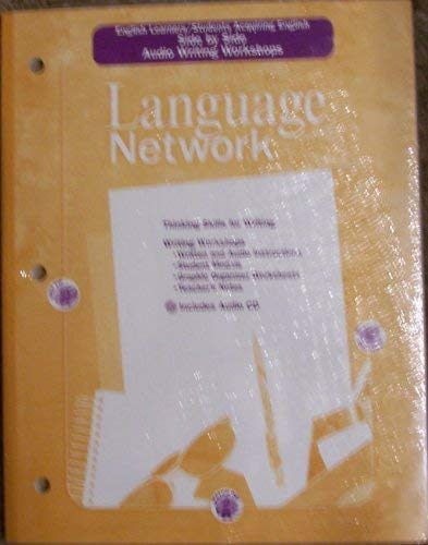 9780618158010: McDougal Littell Language Network: English Learners/SAE: Side by Side: Audio Writing Workshops Grade 6