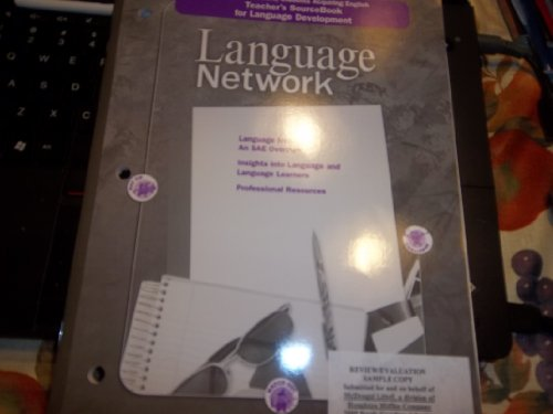 9780618158249: McDougal Littell Language Network: English Learners/SAE:Teacher Sourcebook for Language Development Grades 6-8