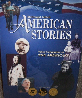 9780618160372: McDougal Littell The Americans: American Stories Videotape Package with Teacher s Resource Book Grades 9-12