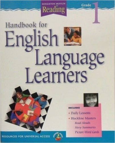 9780618160396: Houghton Mifflin Reading: The Nation's Choice: Teacher Handbook for English Language Learners Grade K