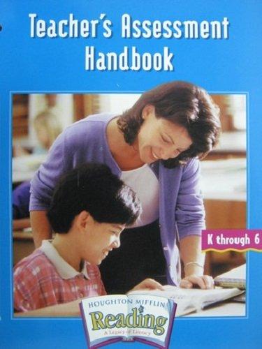 9780618161201: Teacher's Assessment Handbook (Houghton Mifflin Reading) Edition: Reprint