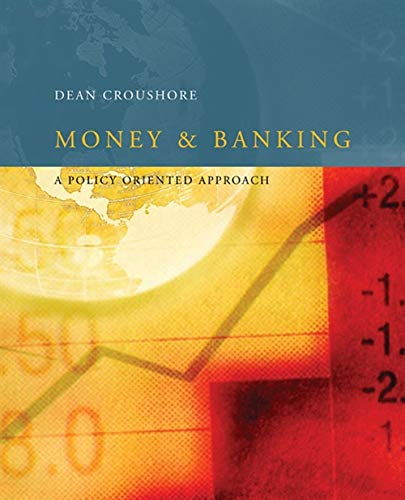 9780618161256: Money and Banking: A Policy-Oriented Approach