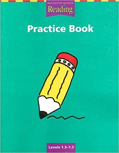 9780618161607: Houghton Mifflin Reading--Practice Book: Levels 1.3-1.5