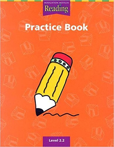 PRACTICE BOOK: LEVEL 2.2 (HOUGHTON MIFFLIN. READING).
