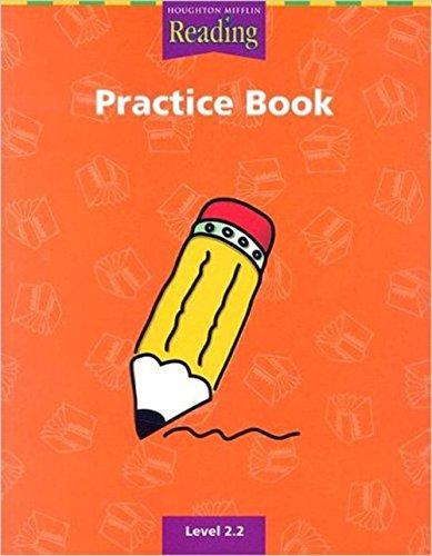 9780618161621: Practice Book: Level 2.2 (Houghton Mifflin. Reading)