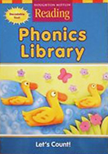 9780618161911: Let's Count (Houghton Mifflin Reading, Phonics Library)